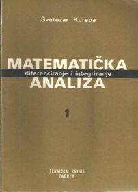 Matematička analiza 1: diferenciranje i integriranje