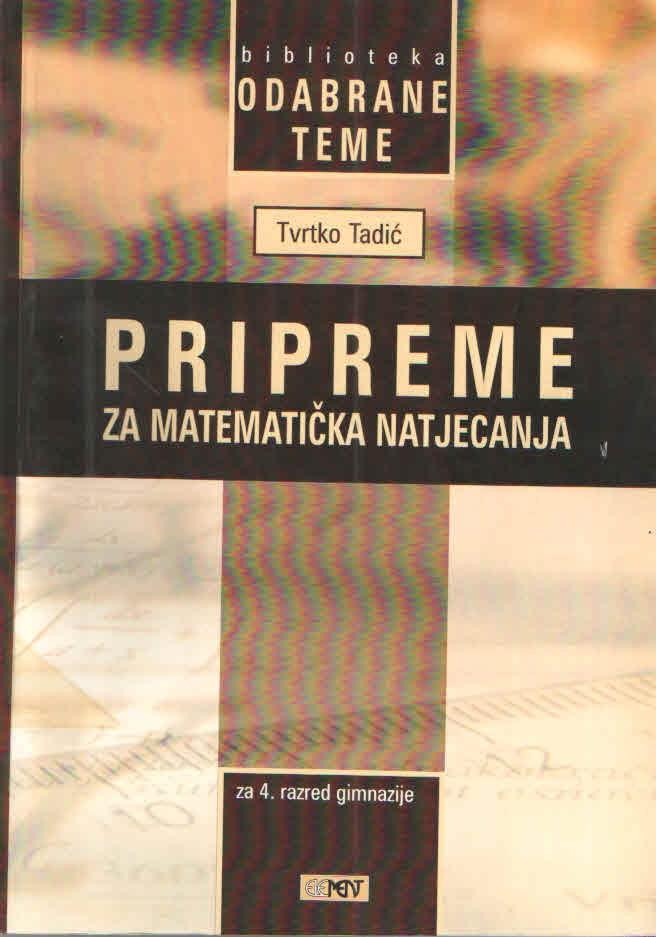 Pripreme za matematička natjecanja