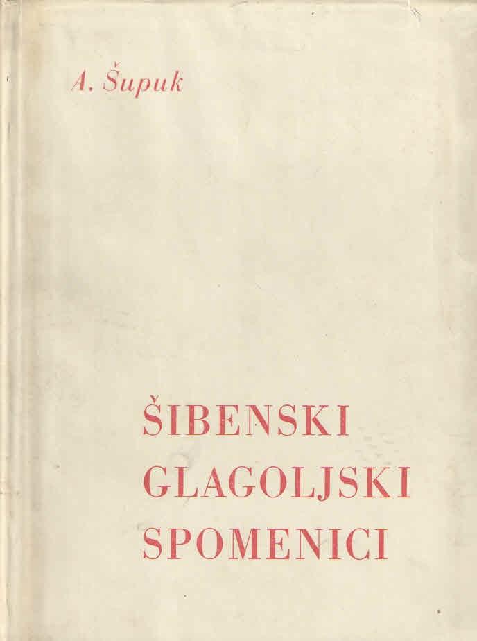 Šibenski glagoljski spomenici