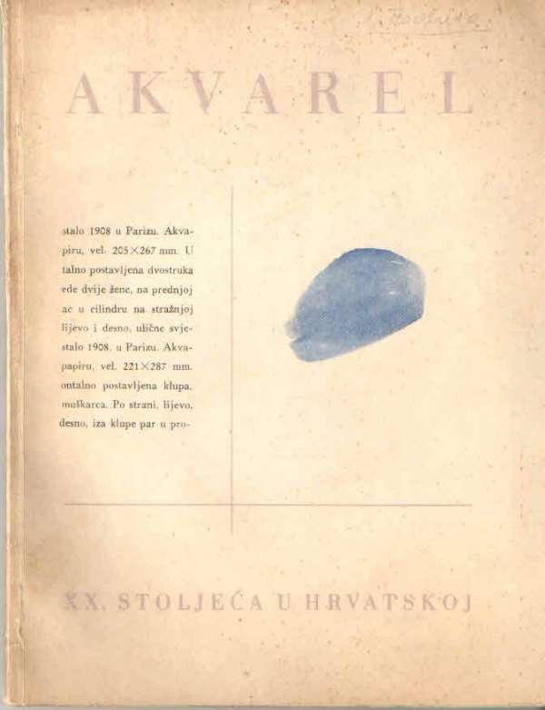 Akvarel XX. stoljeća u Hrvatskoj