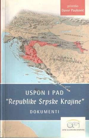 "Uspon i pad ""Republike Srpske Krajine"""