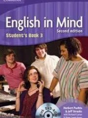 ENGLISH IN MIND 3 : Student's Book 3 with DVD-ROM