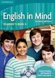 ENGLISH IN MIND 4 : Student's Book 4 with DVD-ROM