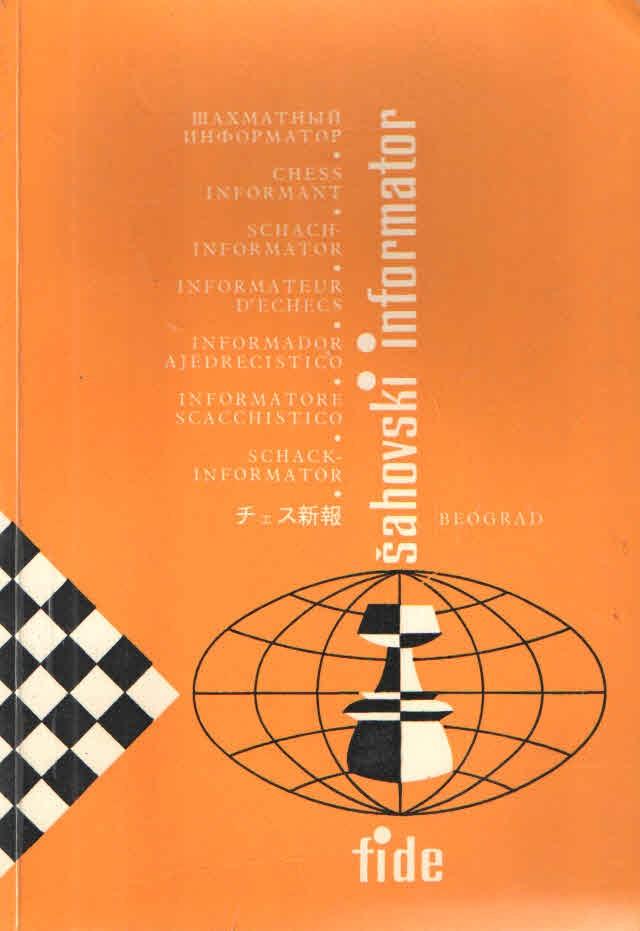 Šahovski informator 34