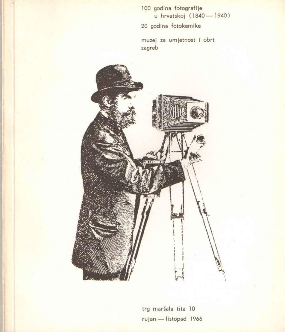100 godina fotografije u hrvatskoj (1840-1940); 20 godina fotokeramike