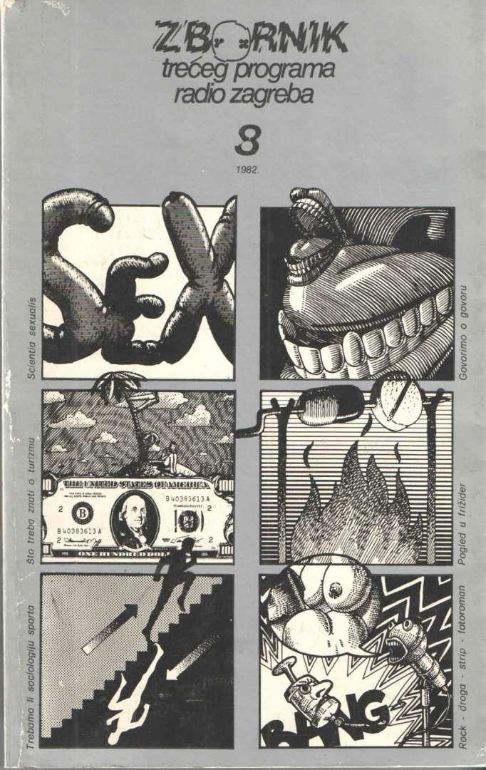 Zbornik Trećeg programa Radio Zagreba 8/82.