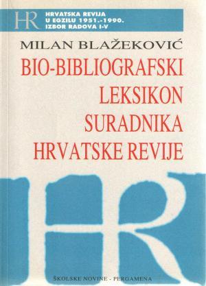 Bio-bibliografski leksikon suradnika Hrvatske revije